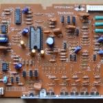 Technics(テクニクス) SL-1000mk3 ドライブ回路基板 部品面 オーバーホール前