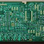 Technics(テクニクス) SL-1000mk3 ドライブ回路基板 半田面 オーバーホール前