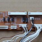 Technics(テクニクス) SL-1000mk3 中継回路基板 部品面 オーバーホール前