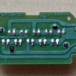 Technics(テクニクス) SL-1000mk3 ストロボ回路基板 半田面 オーバーホール前