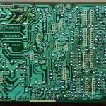 Technics(テクニクス) SL-1000mk3 電源オペレーション回路基板 半田面 オーバーホール後
