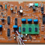 Technics(テクニクス) SL-1000mk3 コントロール回路基板 部品面 オーバーホール後