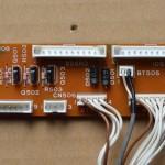 Technics(テクニクス) SL-1000mk3 中継回路基板 部品面 オーバーホール後