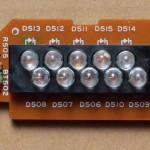 Technics(テクニクス) SL-1000mk3 ストロボ回路基板 部品面 オーバーホール後