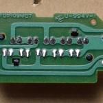 Technics(テクニクス) SL-1000mk3 ストロボ回路基板 半田面 オーバーホール後