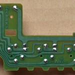 Technics(テクニクス) SL-1000mk3 回転数切り替え回路基板 半田面 オーバーホール後