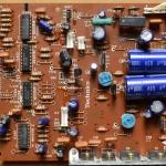 Technics(テクニクス) SP-10mk3 電源オペレーション回路基板 部品面 オーバーホール前