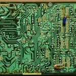 Technics(テクニクス) SP-10mk3 電源オペレーション回路基板 半田面 オーバーホール前