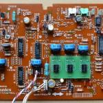 Technics(テクニクス) SP-10mk3 コントロール回路基板 部品面 オーバーホール後