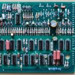 Technics(テクニクス) SP-10mk2 論理部回路基板 部品面 オーバーホール後