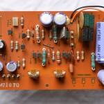 Technics (テクニクス) SP-10mk2 電源部回路基板 部品面 オーバーホール前