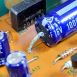 Technics (テクニクス) SP-10mk2 リード線が腐食した電解コンデンサ