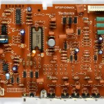 Technics (テクニクス) SP-10mk3 ドライブ回路基板 部品面 オーバーホール前