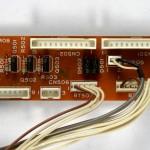 Technics (テクニクス) SP-10mk3 中継回路基板 部品面 オーバーホール前