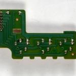 Technics (テクニクス) SP-10mk3 速度選択スイッチ回路基板 半田面 オーバーホール前