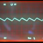 Technics (テクニクス) SP-10mk3 制御用電源回路整流後波形