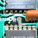 Technics (テクニクス) SP-10mk2 腐食した回路パターン