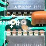 Technics (テクニクス) SP-10mk2 腐食し切断された回路パターン