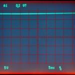 Technics (テクニクス) SP-10mk2 制御用電源電圧波形 オーバーホール後