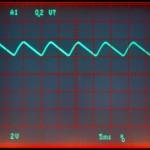 Technics (テクニクス) SP-10mk2 制御用電源整流回路出力波形 オーバーホール後