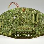 Technics (テクニクス) SP15 ドライブ回路基板 半田面 オーバーホール前