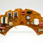Technics (テクニクス) SP15 電源回路基板 部品面 オーバーホール後