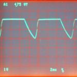Technics (テクニクス) SP-10mk2 制御用電源波形 オーバーホール前