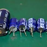 Technics (テクニクス) SP-10mk3 液漏れした電解コンデンサ