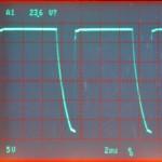 Technics (テクニクス) SP-10mk2 駆動用電源波形 オーバーホール前