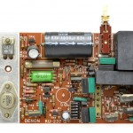 DENON (デンオン) DP-6000 モーター駆動回路基板 部品面 オーバーホール前