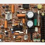 DENON (デンオン) DP-6000 サーボアンプ回路基板 部品面 オーバーホール前