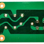 DENON (デンオン) DP-6000 電源フィルタ回路基板 半田面 オーバーホール前