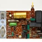 DENON (デンオン) DP-6000 モーター駆動回路基板 部品面 オーバーホール後