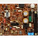 DENON (デンオン) DP-6000 サーボアンプ回路基板 部品面 オーバーホール後