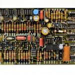 DENON (デンオン) DP-6000 位相ロックアンプ回路基板 部品面 オーバーホール後