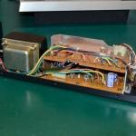 Technica (テクニクス) SP-10mk2 電源ユニット内部 オーバーホール前