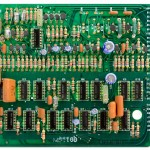 Technica (テクニクス) SP-10mk2 論理回路基板 部品面 オーバーホール前