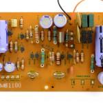 Technica (テクニクス) SP-10mk2 電源回路基板 部品面 オーバーホール前