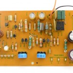Technica (テクニクス) SP-10mk2 電源回路基板 部品面 オーバーホール後