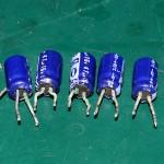 Technics (テクニクス) SP-15 液漏れした電解コンデンサ