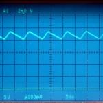 Technics (テクニクス) SP-10mk3 コントロール回路電源電圧波形 修理・オーバーホール後