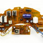 Technics (テクニクス) SP-15 電源回路基板 部品面 オーバーホール前