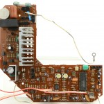 DENON (デノン) DP-60L メイン回路基板 部品面 オーバーホール前