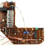 DENON (デノン) DP-60L メイン回路基板 部品面 オーバーホール後