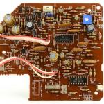 DENON (デノン) DP-60L オートリフトアップ回路基板 部品面 オーバーホール後