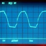 Technics (テクニクス) SP-10mk3 電源整流波形 オーバーホール前