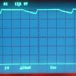 Technics (テクニクス) SP-10mk3 電源回路出力波形 オーバーホール前