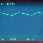 Technics (テクニクス) SP-10mk3 電源整流波形 オーバーホール後