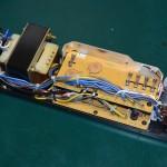 Technics (テクニクス) SP-10mk2 電源ユニット内部 オーバーホール前