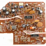 DENON (デノン) DP-60L オートリフトアップ回路基板 部品面 オーバーホール前